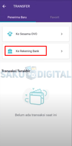 10 Pilih Ke Rekening Bank