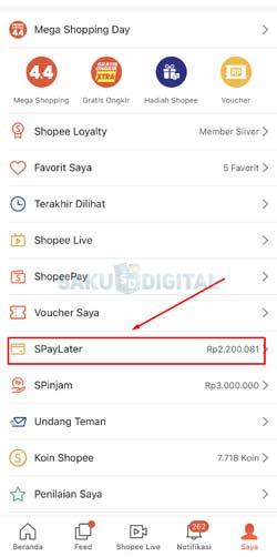 3 Klik Shopee Paylater