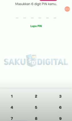 4 Input PIN Gojek