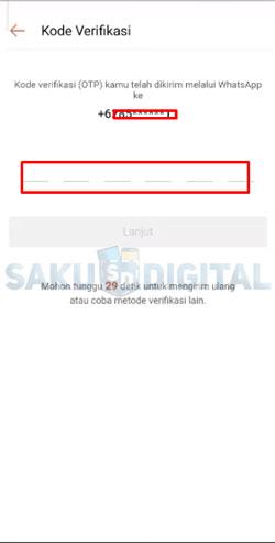 5 Isi Kode OTP