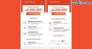 15 Cara Pinjam Uang di Shopee Paylater 2021 : Syarat ...