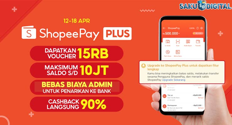 Keuntungan ShopeePay Plus