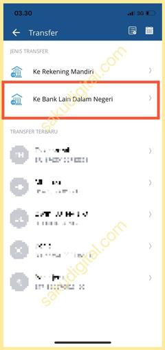 Pilih Antar Bank