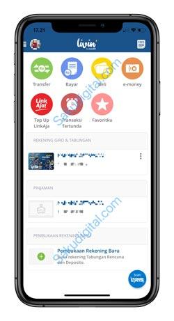 1 Buka Aplikasi Mandiri Online