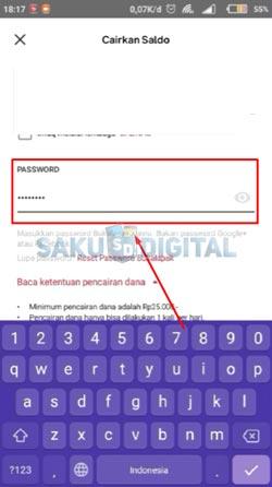20 Input Password Bukalapak