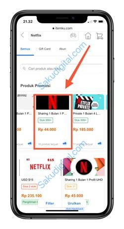 5 Pilih Paket Netflix