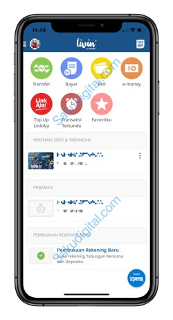 9 Buka Aplikasi Mandiri Online