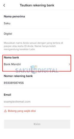 9 Pilih Bank