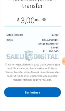 9 Tentukan Nominal Transfer