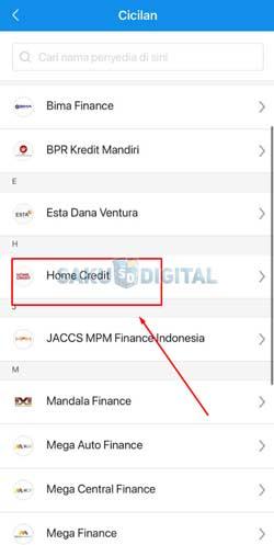 4 Pilih Home Credit