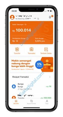 1 Buka Aplikasi SeaBank 1