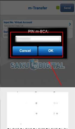 13 Masukkan M PIN BCA