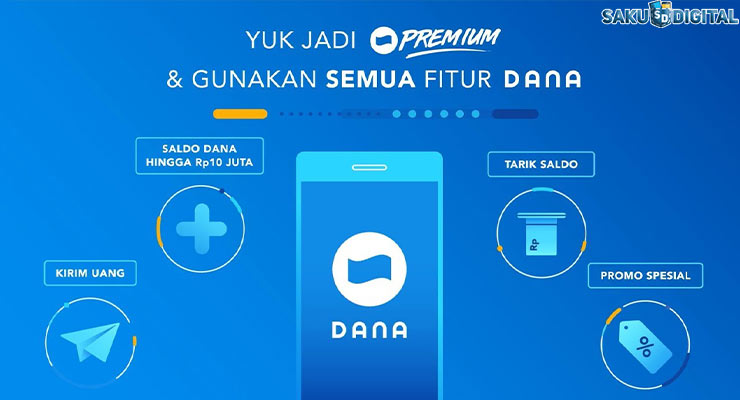 1 Upgrade Ke DANA Premium