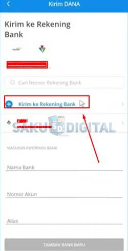 10 Tap Tambah Kirim Ke Rekening Bank