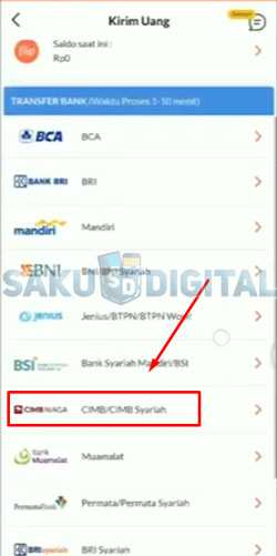 15. Pilih Bank CIMB Niaga