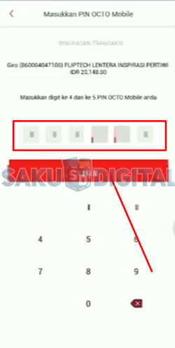 23. Cara Top Up ShopeePay Lewat Octo Mobile