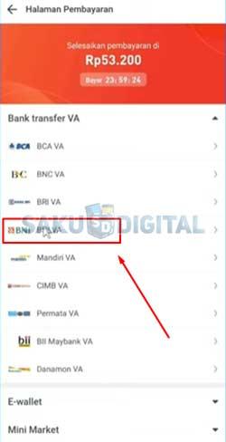 6 Tap Bank BNI